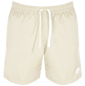 Nike Flow Logo Swim Shorts Beige